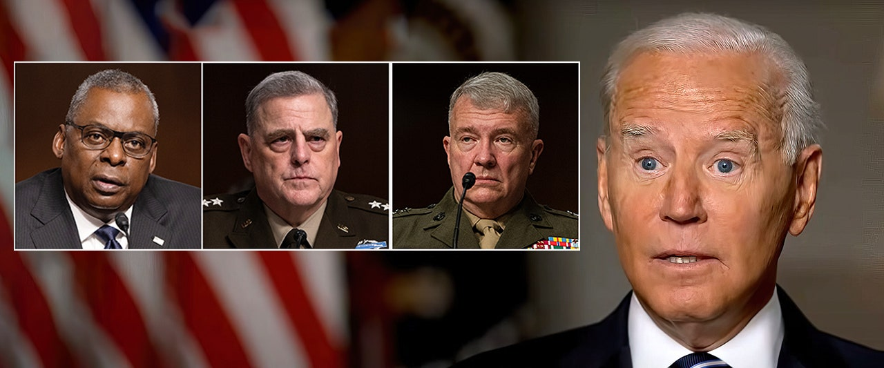 WATCH: Military brass testifying again, after flooring White House with revelations undermining Biden