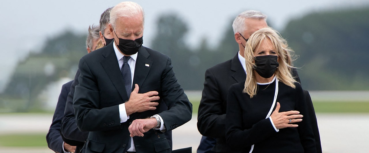 Paper issues correction after defending Biden's behavior at dignified transfer ceremony