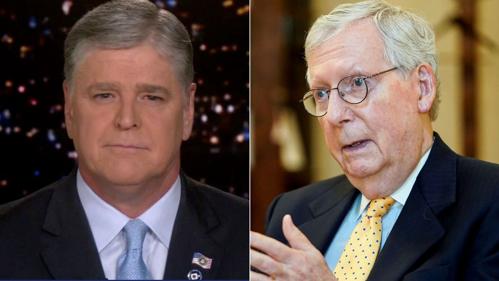 Hannity lays into 'weak' McConnell after voting to extend borrowing