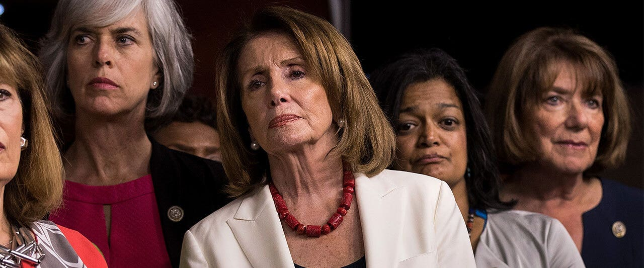 Progressives hand Pelosi stunning defeat as far-left takes driver's seat in Democratic Party
