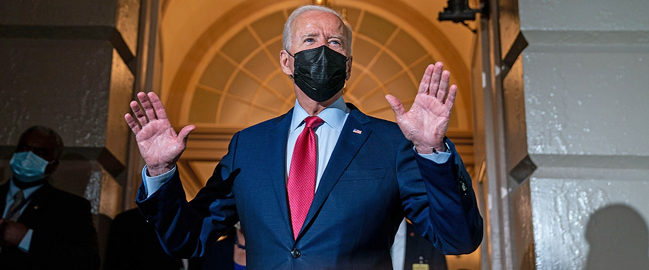 Biden pitches new price tag for socialist spending bill to progressives, as rep. predicts no deal tonight