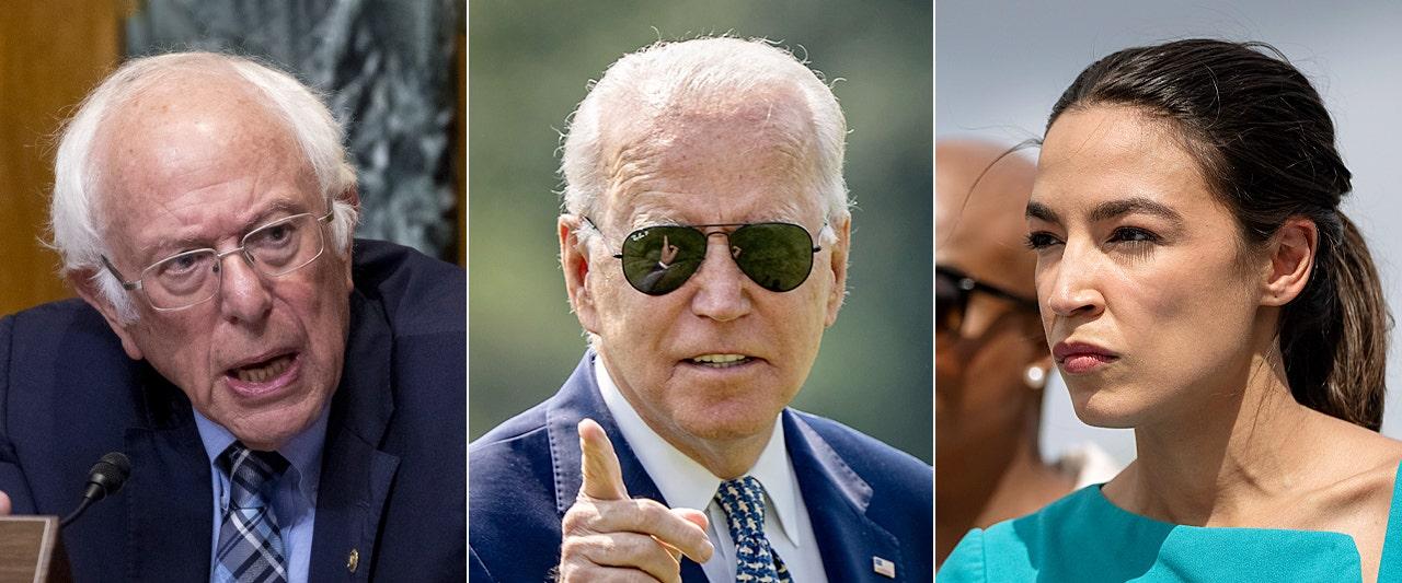 Biden to visit Capitol Hill as progressives revolt, threaten to torpedo president's domestic agenda