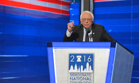 Cory Brooker, Michelle Obama, Elizabeth Warren and Bernie Sanders spoke on Monday at the Democratic National Convention at the Wells Fargo Center in Philadelphia, PA.