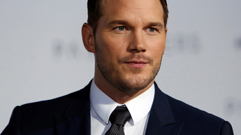 Cast member Chris Pratt poses at the premiere of