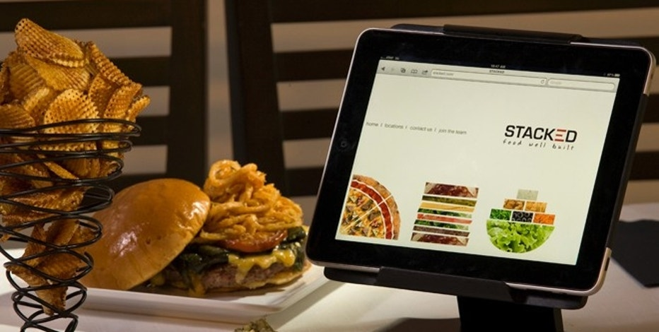 Stacked: Food Well Built will open this May with iPads on every table.