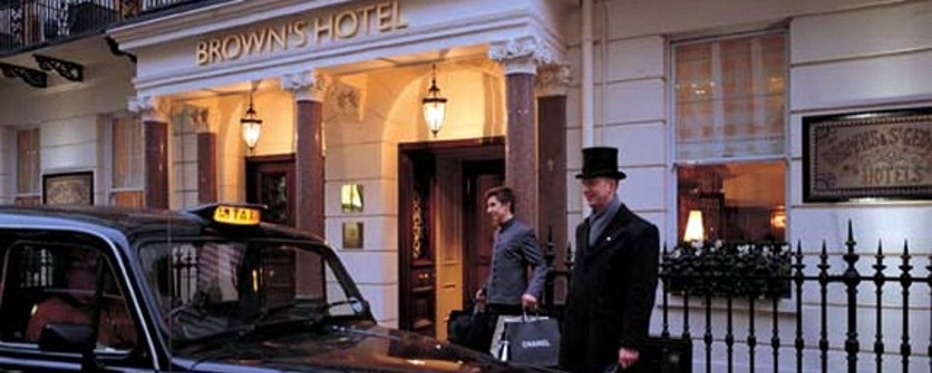 Brown's Hotel is one of many hotels in London capitalizing on the wedding of Prince William and Kate Middleton. (Photo Source: Brown's Hotel)