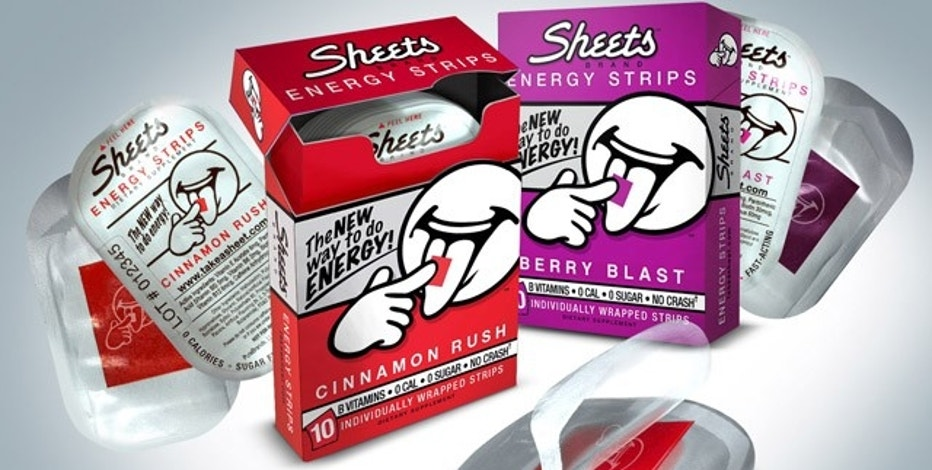 Sheets Energy Strips uses social media to help distinguish its brand.