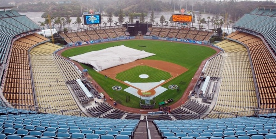 Dodger Stadium in Los Angeles