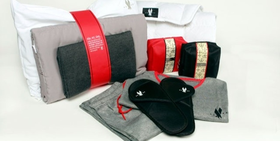 By introducing new perks such as pajamas and slippers in first class, American Airlines is taking a small but important step in boosting its competitive edge. (Photo courtesy of American Airlines)