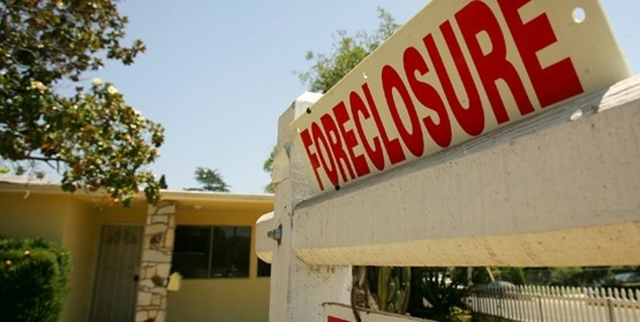 ALTADENA, CA - JULY 25:  A foreclosed home is up for sale again, like thousands of others across throughout the sate, on July 25, 2008 in Altadena, California. Foreclosure filings skyrocketed 121 percent from last year and the number of homeowners faced with foreclosure more than doubled in the second quarter compared to a year ago, according to the latest reports from RealtyTrac. Hardest hit are cities in California, Arizona, Nevada, and Florida. In Stockton, California, one in every 25 homes were foreclosed upon, nearly seven times the national average. In the second quarter, US banks took back 222,000 properties. This the eighth consecutive quarterly climb.   (Photo by David McNew/Getty Images)