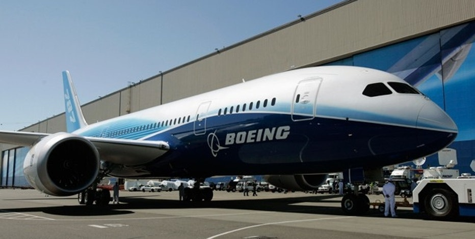 The exterior of Boeing's Dreamliner (Source: Reuters)