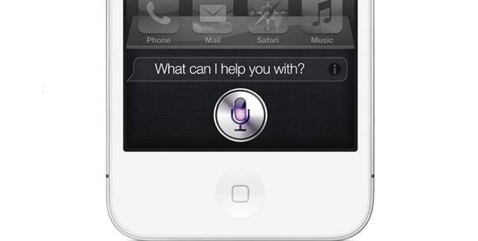 Apple's latest iPhone comes with Siri, a built-in voice-recogntion application.