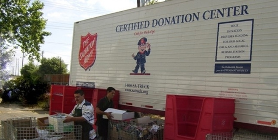 Photo courtesy of the Salvation Army.