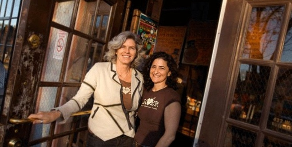 Ann Perrault and Jackie Victor, co-founders of Avalon Bread Company.