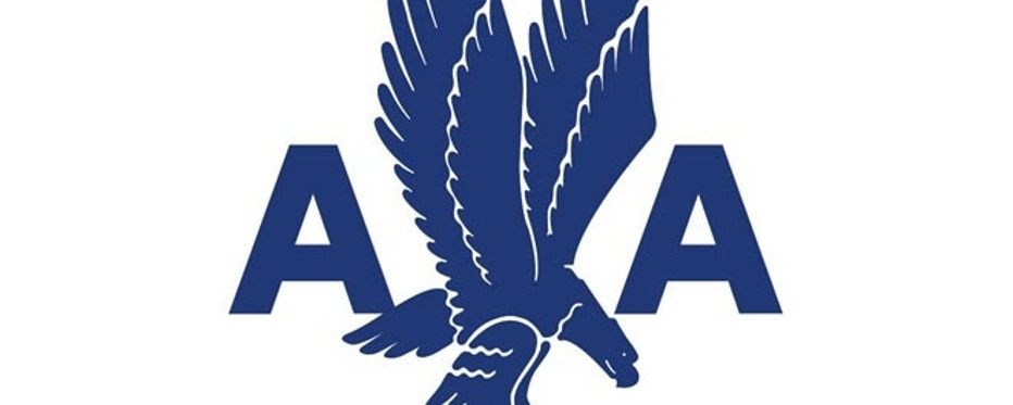 Designed and unveiled in 1945, this was American Airlines' second logo.
