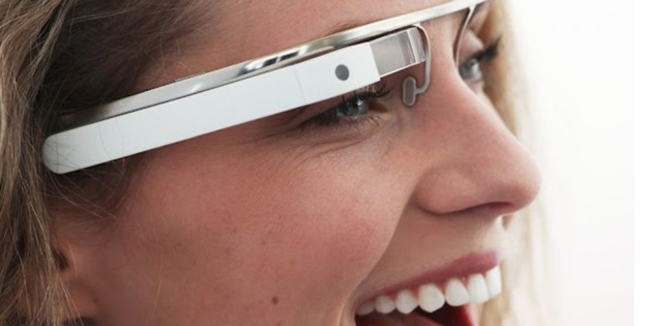 Apr. 4, 2012: Google's Android-powered, augmented-reality glasses would show maps, video chats, photographs, and even allow the user to shop online -- all at the blink of an eye.