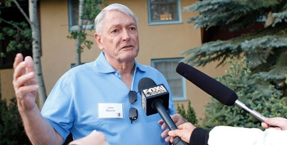 Chairman of Liberty Media John Malone attends the Allen & Co Media Conference in Sun Valley, Idaho, in 2012.