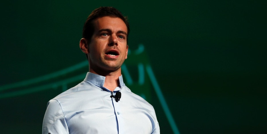 Jack Dorsey, founder of Square and Twitter, speaks on stage during day one of TechCrunch Disrupt SF 2012 event at the San Francisco Design Center Concourse in San Francisco, California September 10, 2012. REUTERS/Stephen Lam (UNITED STATES - Tags: BUSINESS SCIENCE TECHNOLOGY) - RTR37S9C