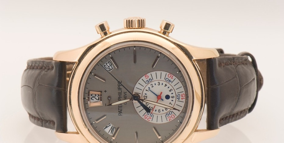 Patek Philippe 18 carat white gold and diamond set watch, $19,000 loan