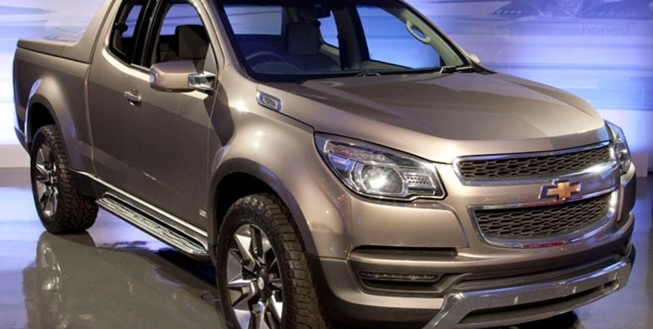 The 2013 Chevrolet Colorado pickup truck for the Thailand market may offer a sneak peek at the U.S. version due out in 2014.