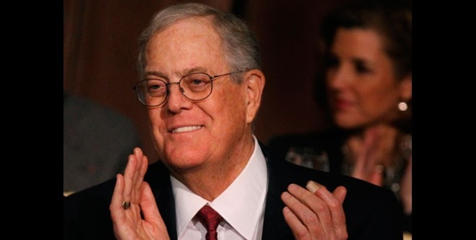 David Koch, executive vice president of Koch Industries.