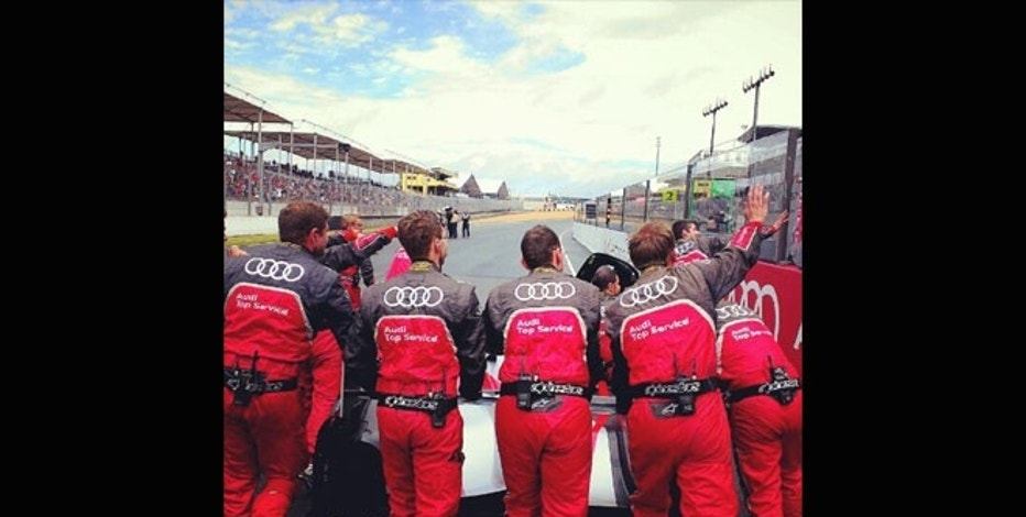 In 2012 Audi flew Jonathan Nafarrette to France and put him up in a mansion in Le Mans to Instagram the team Audi race.