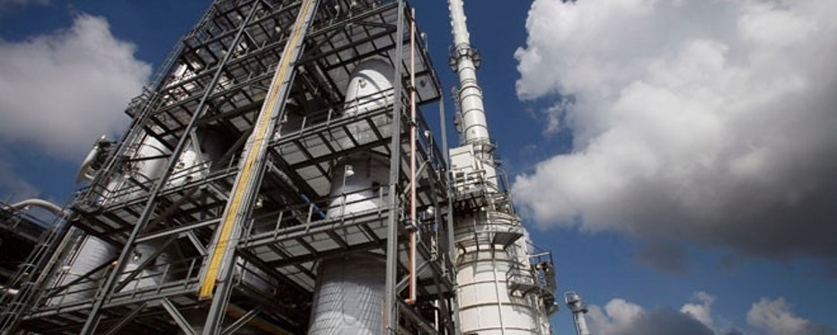 The Valero St. Charles oil refinery in Norco, Louisiana.