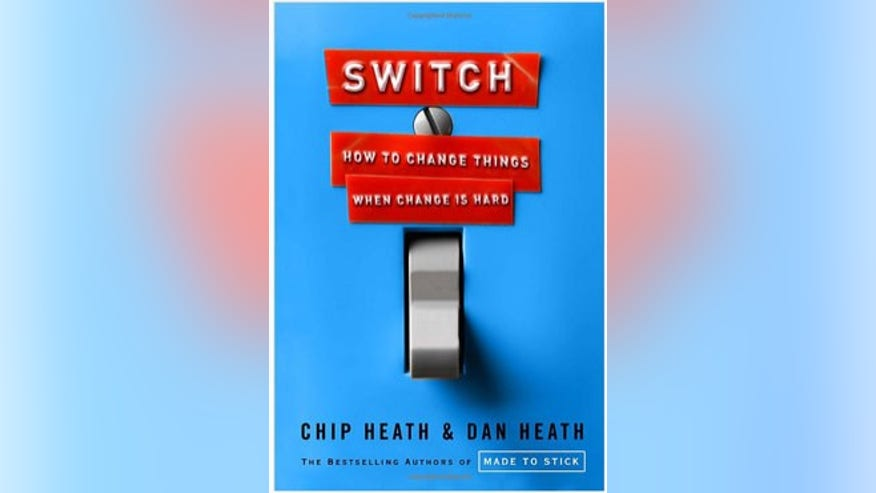 Switch: How to Change Things When Change is Hard, By Chip Heath and Dan Heath (Crown Business, 2010)