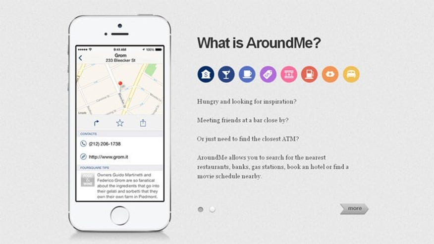 AroundMe: Your On-The-Go Location Resource