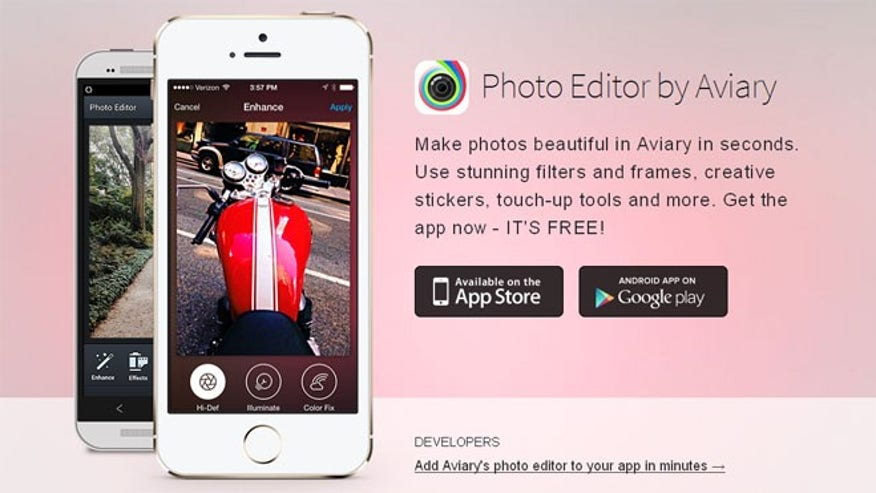 Aviary: An All-Encompassing Photo Editor for the Snap-Happy