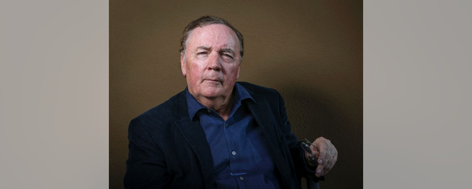 """Writer James Patterson poses to promote the new movie """"Alex Cross"""" based on his novel """"Cross"""" at the Four Seasons in Los Angeles, California, October 6, 2012. Patterson may have sold more than 260 million books worldwide, but he still has not tired of the thrills as his fictional detective, Alex Cross, once again comes to life on the big screen in the upcoming film. Picture taken October 6, 2012.  REUTERS/Bret Hartman (UNITED STATES - Tags: ENTERTAINMENT) - RTR3A0N4"""