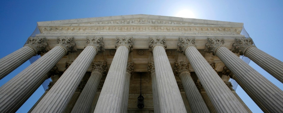 The U.S. Supreme Court building seen in Washington May 20, 2009. President Barack Obama has been weighing a short list of mostly women for a seat on the nine-member high court that decides such issues as abortion and the death penalty as well as business and property