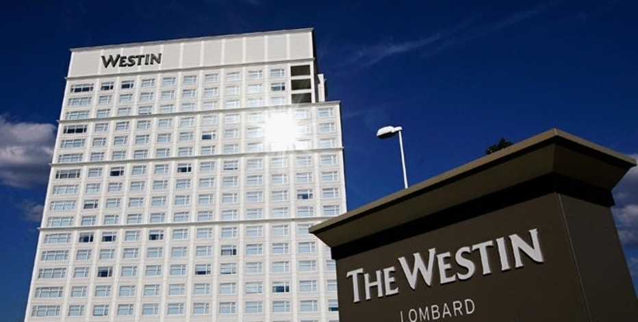 The Westin Lombard Yorktown Center, a hotel of the Starwood chain, is pictured in Lombard, Illinois.