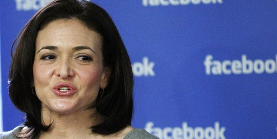 Sheryl Sandberg, Facebook COO and author of the controversial book 'Lean In'.