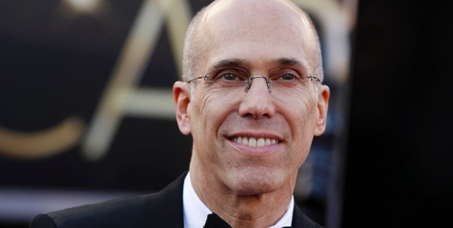 Dreamworks Animation president Jeffrey Katzenberg arrives at the 85th Academy Awards in Hollywood, California, February 24, 2013.     REUTERS/Lucas Jackson (UNITED STATES  - Tags: ENTERTAINMENT)  (OSCARS-ARRIVALS) - RTR3E8CY