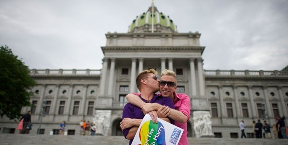USA-GAYMARRIAGE-PENNSYLVANIA