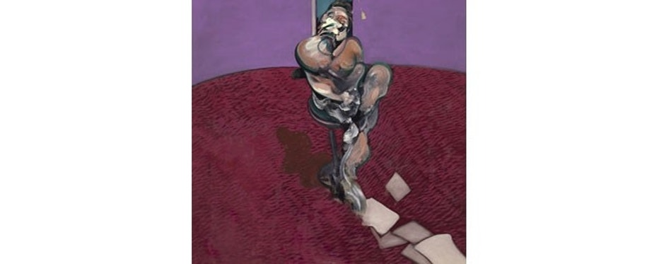 "Francis Bacon's ""Portrait of George Dyer Talking"" from 1966 sold for $70 million."