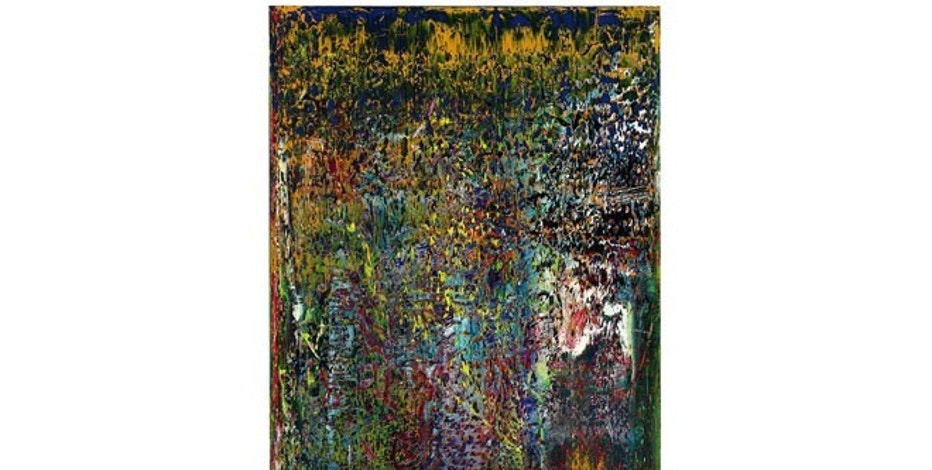 "Gerhard Richter's ""Abstraktes Bild"" from 1989 was sold for $32.5 million."