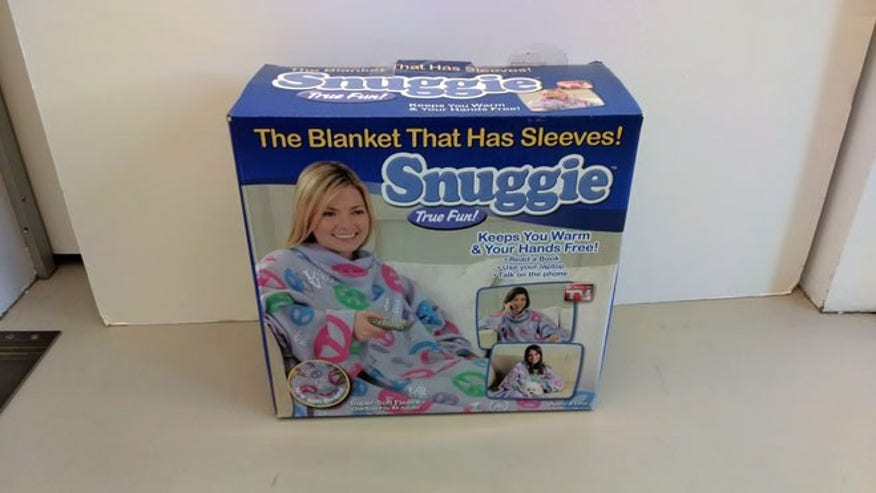 Snuggie ($20, plus shipping and handling)