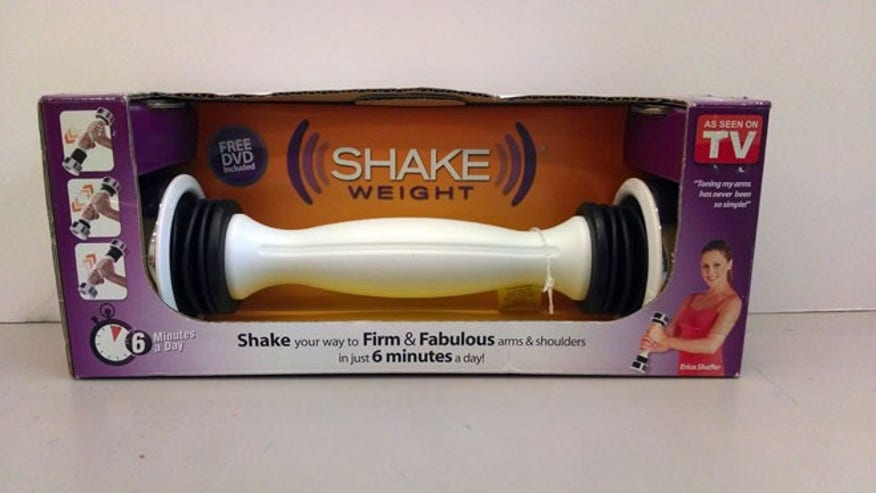 Shake Weight ($10 plus shipping and handling)