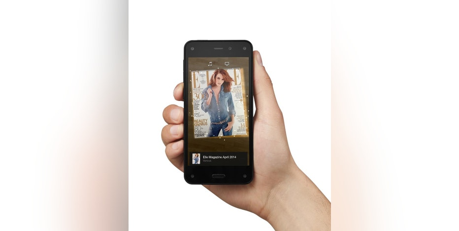 This undated image provided by Amazon shows the company's Firefly app.  A key feature of Amazon's new Fire smartphone is its Firefly service, a visual search feature, which also has modes for music and video. (AP Photo/Amazon)