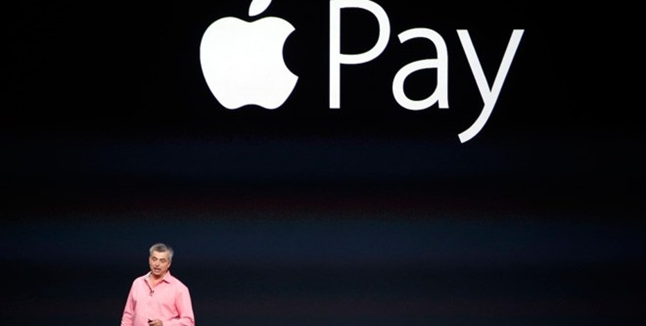 Eddy Cue, Apple's senior vice president of Internet Software and Service, introduces Apple Pay during an Apple event at the Flint Center in Cupertino, California, September 9, 2014.