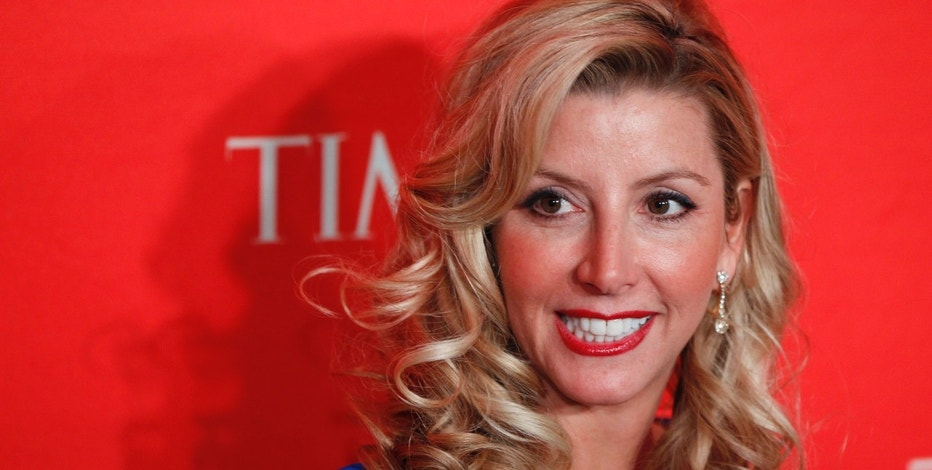 Founder of Spanx undergarments Sara Blakely arrives to be honored at the Time 100 Gala in New York April 24, 2012. The Time 100 is an annual list of the 100 most influential people in the previous year complied by Time Magazine. REUTERS/Lucas Jackson (UNITED STATES - Tags: ENTERTAINMENT BUSINESS TEXTILE MEDIA HEADSHOT) - RTR316KB