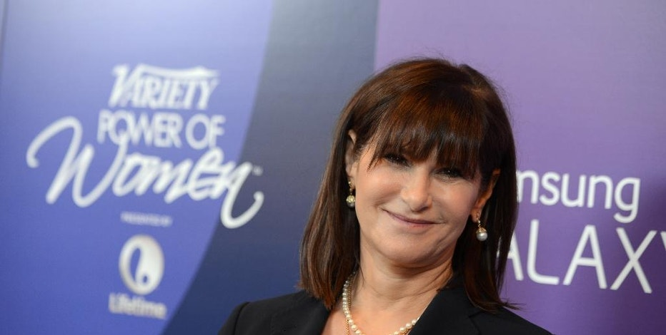 """FILE --In this Oct. 4, 2013 file photo, Amy Pascal, Sony Pictures Entertainment co-chairman, arrives at Variety's 5th Annual Power of Women event at the Beverly Wilshire Hotel on Friday, Oct. 4, 2013, in Beverly Hills, Calif. Pascal is under fire for racist remarks that surfaced in emails made public by the Sony cyberattack. Pascal apologized Thursday, Dec. 11, 2014, for the """"insensitive and inappropriate"""" comments in her emails that she says are """"not an accurate reflection of who I am.""""  (Photo by Jordan Strauss/Invision/AP, File)"""