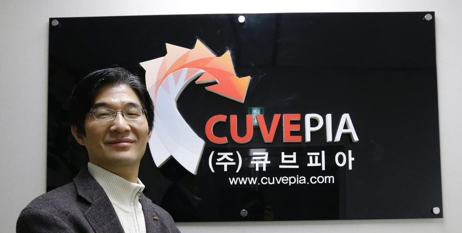 """In this Jan. 20, 2015, Kwon Seok-chul, CEO at computer security firm Cuvepia Inc., poses after presenting """"Kwon-ga,"""" a real-time monitoring solution that detects hackers during an interview at his office in Seongnam, South Korea. Ever since the Internet blossomed in the 1990s, cybersecurity was built on the idea that computers could be protected by a digital quarantine. Now, as hackers routinely overwhelm such defenses, experts say cybersecurity is beyond due an overhaul. Their message: Neutralize attackers once they're inside networks rather than fixating on trying to keep them out. In South Korea, where government agencies and businesses have come under repeated attacks from hackers traced by Seoul to North Korea, several security firms have jumped on the growing global trend to develop systems that analyze activity to detect potentially suspicious patterns rather than scanning for known threats. Kwon said it has been tough to convince executives that it's more effective to catch bad guys after they've infiltrated a network instead of trying to keep them out, which he believes is impossible anyway. (AP Photo/Ahn Young-joon)"""