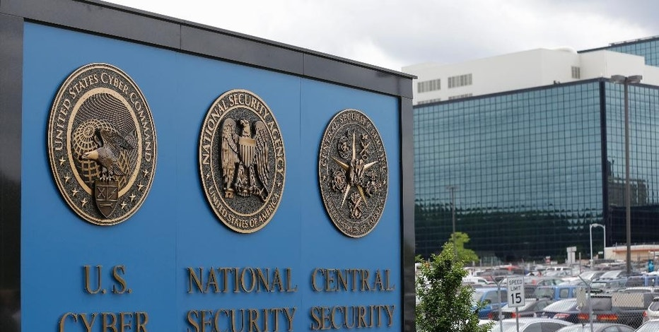 FILE - In this June 6, 2013 file photo, a sign stands outside the National Security Agency (NSA) campus in Fort Meade, Md. As Congress considers whether to extend the life of a government program that sweeps up American phone records, privacy advocates and civil liberties group fear too much about the surveillance still remains hidden from view to allow for a comprehensive public understanding. (AP Photo/Patrick Semansky, File)