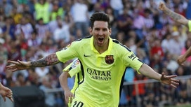 Leadership Moment  for FC Barcelona's Messi