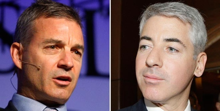 A combination photograph shows Daniel S. Loeb (L), founder of Third Point LLC, in Las Vegas, Nevada, May 9, 2012 and William Ackman, Chief Executive Officer of Pershing Square Capital Management LP in Calgary, Alberta, May 17, 2012.