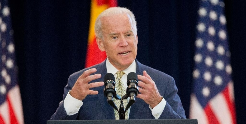 Vice President Joe Biden speaks at the 7th US China Strategic and Economic Dialogue (S&ED) and 6th Consultation on People-to-People (CPE) at the U.S. State Department in Washington, Tuesday, June 23, 2015.(AP Photo/Pablo Martinez Monsivais)