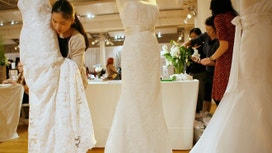 Brides Hit The Web for 'The Dress'